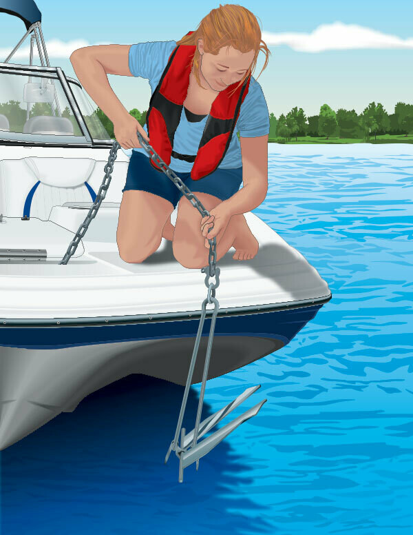 Права на лодку. Район плавания ВП. Курсы ГИМС